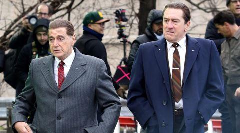 Robert De Niro ve Al Pacino'lu Scorsese Filmi The Irishman'den İlk Fragman Yayınlandı