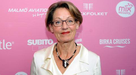 Doğum Yaptığı Video, Yıllardır Kamu Spotu Olarak Seyredilen Siyasetçi: Gudrun Schyman