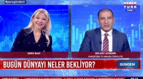 Ebru Baki ve Bülent Aydemir Arasındaki İlginç Diyaloğun Muhtemel Sebebi