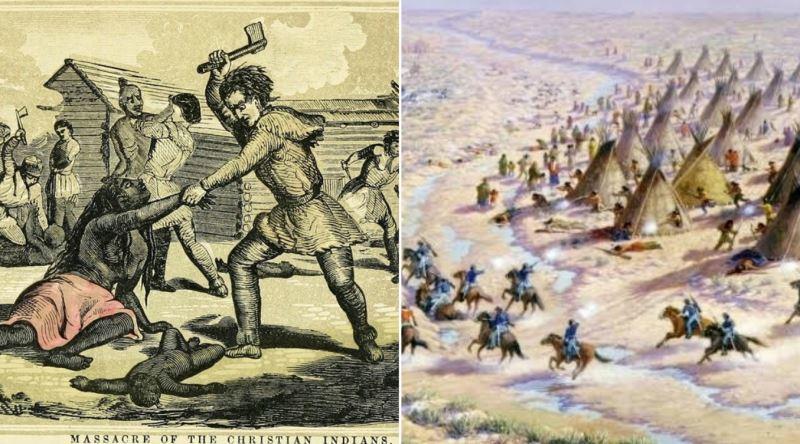 Amerika'da Sessiz Sedasız Yaşanan Kızılderili Soykırımının Bölge Bölge Açıklaması - Ekşi Şeyler
