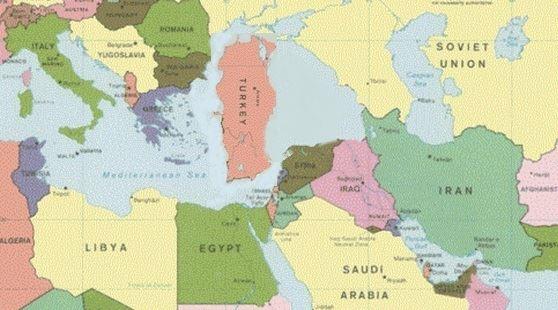 Türkiye'yi Saat Yönünde 90 Derece Çevirmek