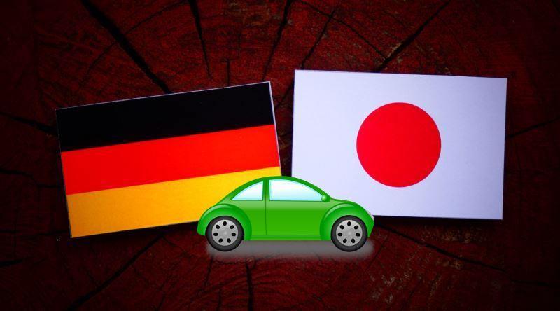 Teknoloji üreten Iki ülkenin Mahsülleri Japon Ve Alman Arabalarının