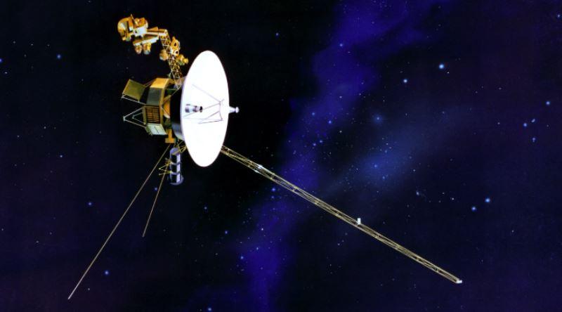 1977de Voyager Uzay Aracı Ile Birlikte Uzaya Gönderilen Ilk Türkçe