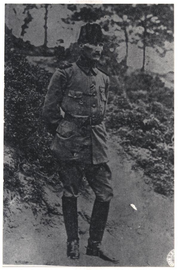 Anafartalar Grup Komutanı Albay Mustafa Kemal.
