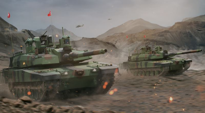 Altay Tankinin Seri Uretime Gecmesindeki Motor Engeli Eksi Seyler