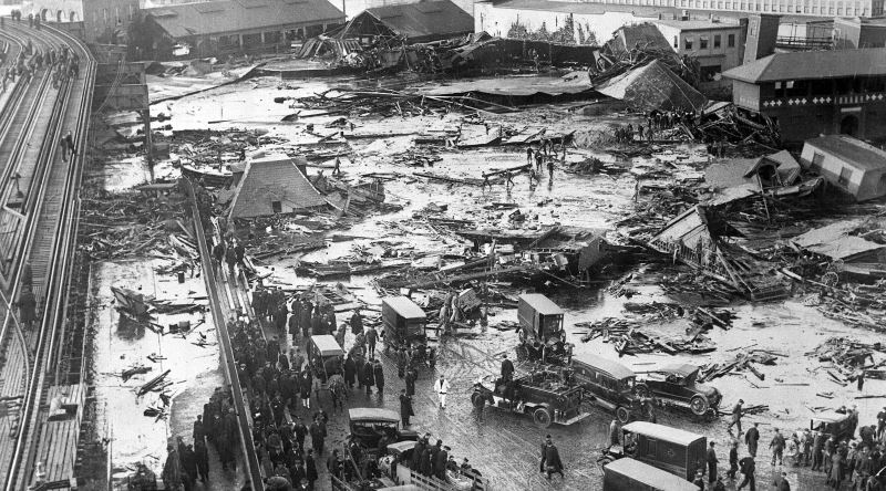 Tarihteki En İlginç Felaketlerden Biri: 1919 Boston Şeker Pekmez Seli